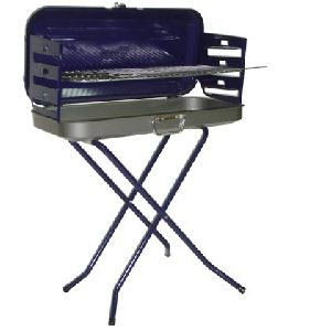Charcoal Grills - Valencial Folding Portable Charcoal BBQ