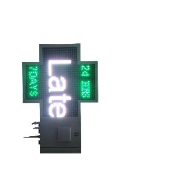 1024mmx1024mm video led pharmcy cross