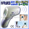 2in1 Body & Surface Thermometer Forehead , 0C~60C