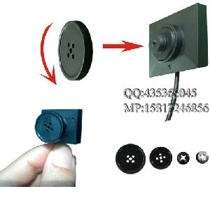 mini button hidden camera for police low lux