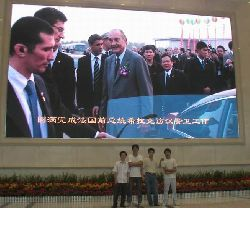 PH7.62 indoor rental full color led display